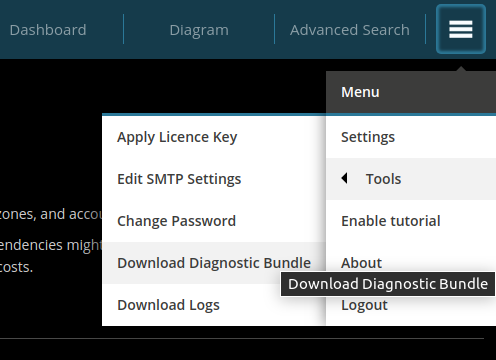 download-diagnostic-bundle
